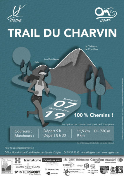Affiche sélectionnée pour le trail 2019