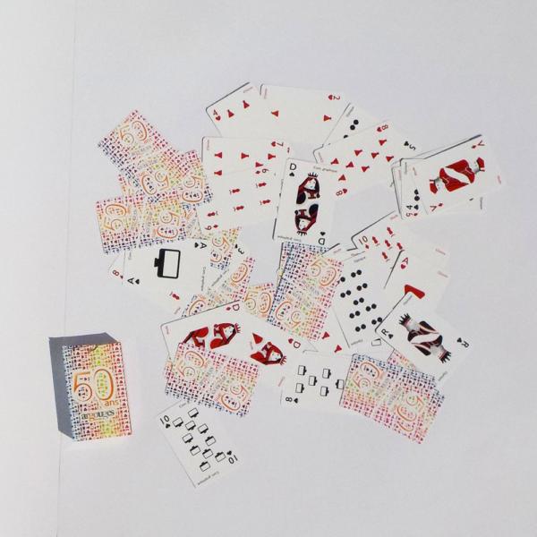 Jeux de 54 cartes aux couleurs des 50ans d'Argouges