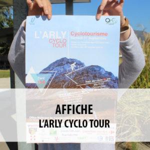 BTS ERPC - Projet d'affiche pour le Cyclo tour du Val d'Arly