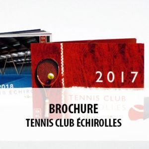 BTS ERPC - Projet de brochure pour le Tennis Club d'Échirolles