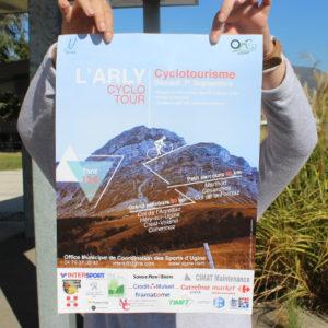 Projet - Affiche Cyclotour L'Arly