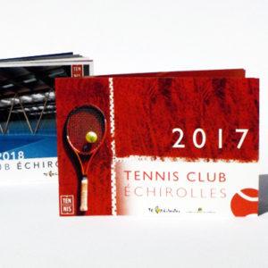Projet - brochure Tennis Club d'Échirolles