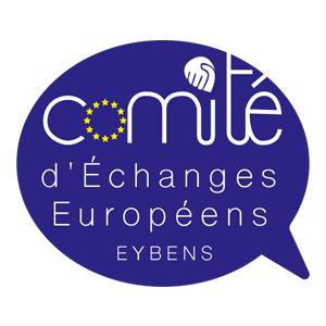 Projet logotype pour le Comité d'Échanges Européens d'Eybens
